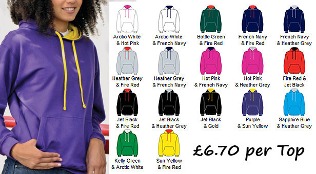 var hoodies for girls